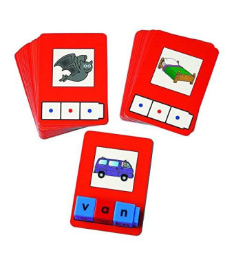 Didax Educational Resources Didax Unifix CVC Word Building Card