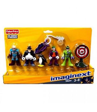 Fisher-Price Imaginext DC Super Friends Set Villains
