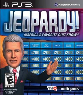 THQ Jeopardy - Playstation 3
