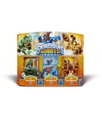 Activision Skylanders Giants Triple Pack #5 (Prism Break, Lightning Rod and Drill Sergeant)