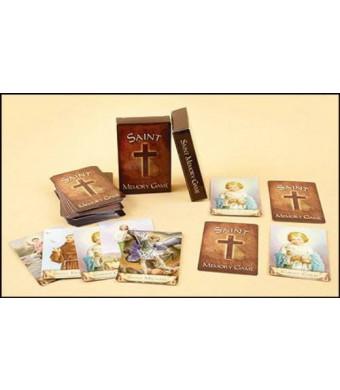 AutoM Adult Kid Sunday School Church Catholic Saint Pair Matching Fun Memory Card Game