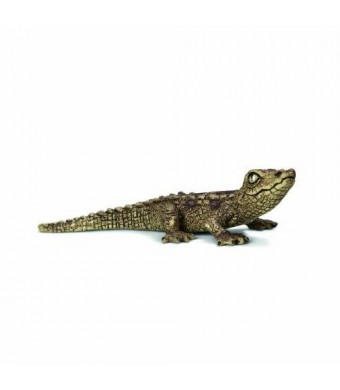 Schleich Baby Crocodile Toy Figure