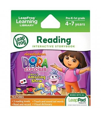 Dora the Explorer LeapFrog LeapPad Dora's Amazing Show Ultra eBook (works with all LeapPad tablets)