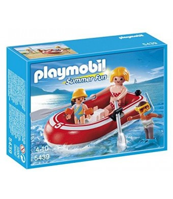 PLAYMOBIL Swimmers with Raft Playset