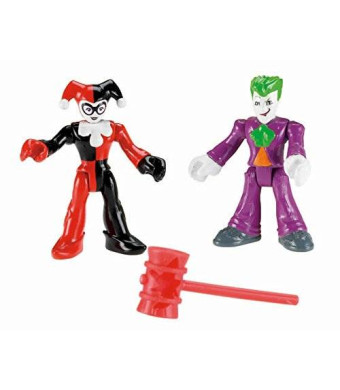 Fisher-Price Imaginext DC Super Friends Joker and Harley Quinn