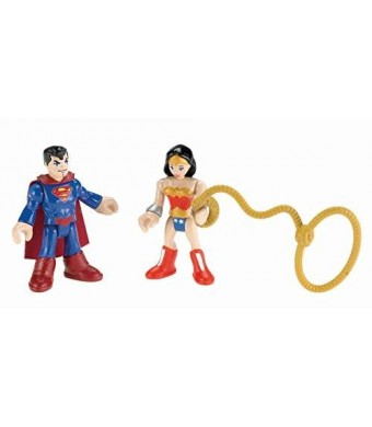 Fisher-Price Imaginext DC Super Friends Superman and Wonder Woman