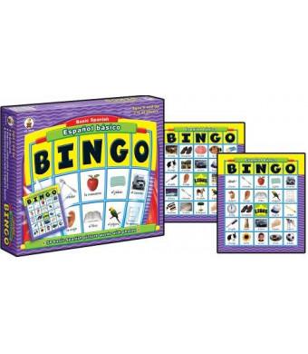 Carson-Dellosa Espanol Basico Basic Spanish: BINGO Board Game