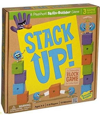 Peaceable Kingdom / Stack Up! Award Winning Preschool Skills Builder Game