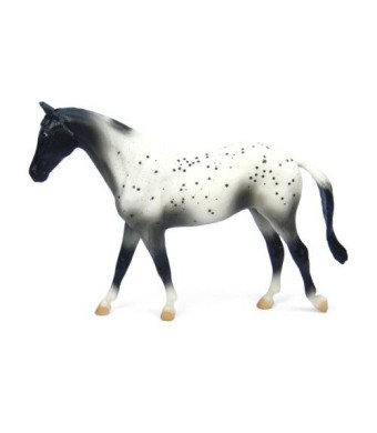 Breyer Black Semi-Leopard Appaloosa Horse Toy Figure