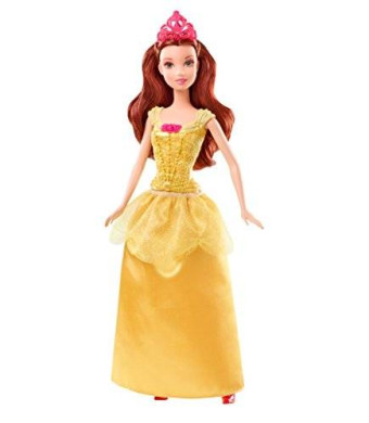 Mattel Disney Princess Sparkling Princess Belle Doll