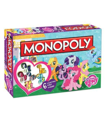 USAopoly My Little Pony Monopoly Board Game