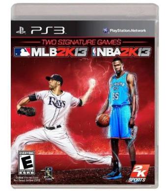 2K Sports Combo Pack - MLB2K13/NBA2K13 - Playstation 3