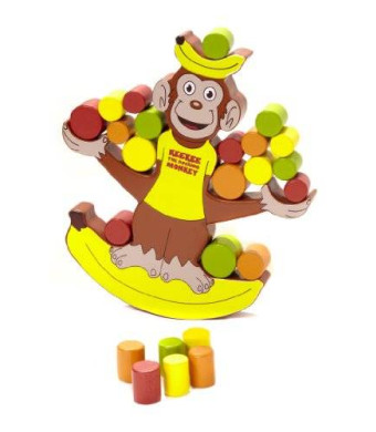 Blue Orange Keekee The Rocking Monkey Board Game
