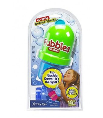 Little Kids Fubbles No-Spill Bubble Tumbler, (Colors May Vary)