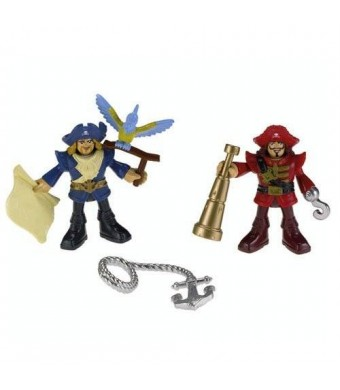 Fisher-Price Imaginext Pirate Captain and Officer