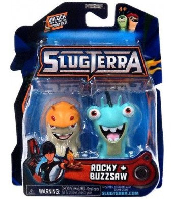 Slugterra Toys, Games & Dart Mini Action Figures Slugterra Mini Figure 2-Pack Rocky and Buzzsaw [Includes Code for Exclusive Game Items]
