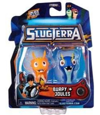 Slugterra Toys, Games & Dart Mini Action Figures Slugterra Mini Figure 2-Pack Burpy V1 and Joules [Includes Code for Exclusive Game Items]