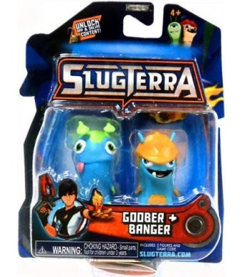 Slugterra Toys, Games & Dart Mini Action Figures Slugterra Mini Figure 2-Pack Goober and Banger [Includes Code for Exclusive Game Items]