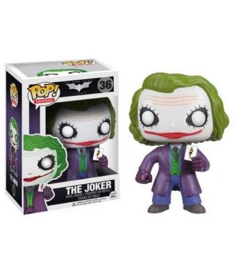 Funko POP Heroes: Dark Knight Movie The Joker Vinyl Figure