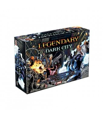 Upper Deck Marvel Legendary Dark City Board Game