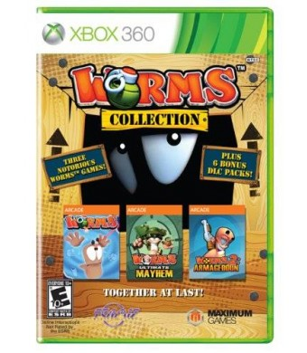 Maximum Games Worms Collection - Xbox 360