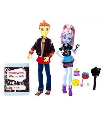 Monster High Home Ick Abbey Bominable and Heath Burns 2-Pack