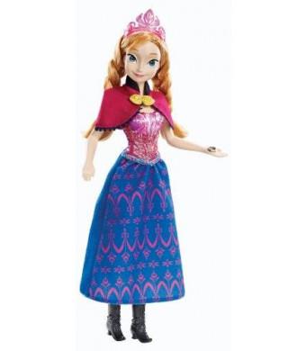 Mattel Disney Frozen Musical Magic Anna Doll