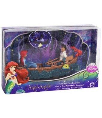 Mattel Disney Princess Favorite Moments The Little Mermaid Ariel and Eric's Boat Ride Playset