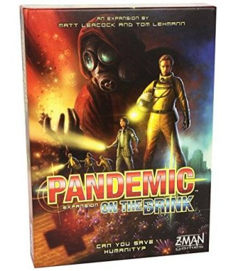 Z-Man Games Pandemic on The Brink Expansion Board Game (2nd Edition)