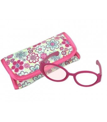 Sophia's 18 Inch Doll Pink Sunglasses and Case