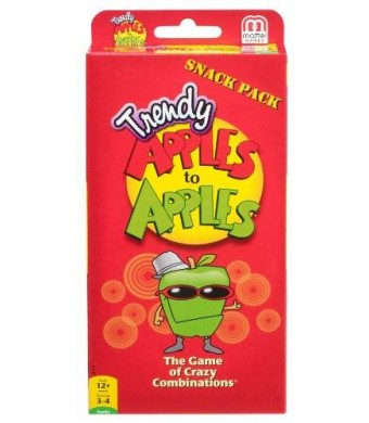 Mattel Apples to Apples Trendy Snack Pack Expansion Pack Card Game