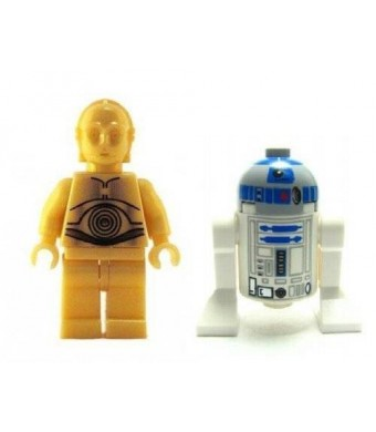 LEGO C-3PO and R2-D2 Droids - Star Wars Minifigures
