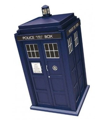 Underground Toys Doctor Who Spin and Fly 3.75 Tardis Action Figure
