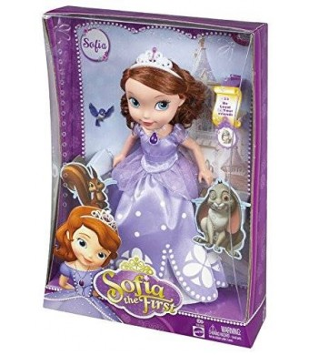 Mattel Disney Sofia The First Scale Fashion Doll, Large
