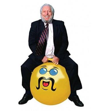 Waliki Yellow Adult Size Hopper Hoppity Hippity Ball: LIKE A BOSS
