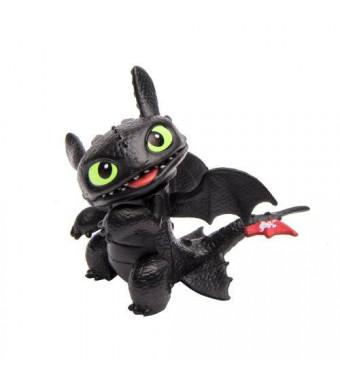 Dreamworks Dragons Defenders of Berk Mini Dragons, Toothless Night Fury