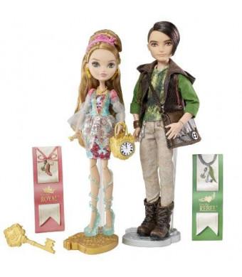 Ever After High Ashlynn Ella and Hunter Huntsman Doll, 2-Pack