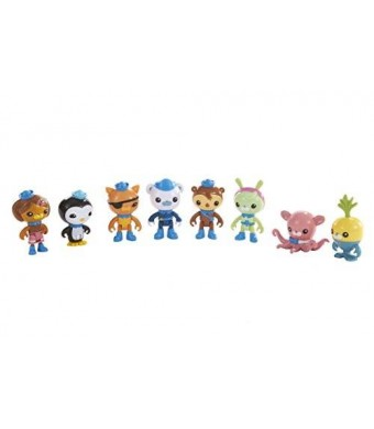 Fisher-Price Octonauts Octo-Crew 8 Figure Pack