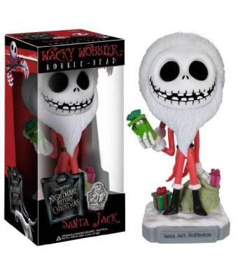 FunKo The Nightmare Before Christmas Santa Jack Skellington Wacky Wobbler