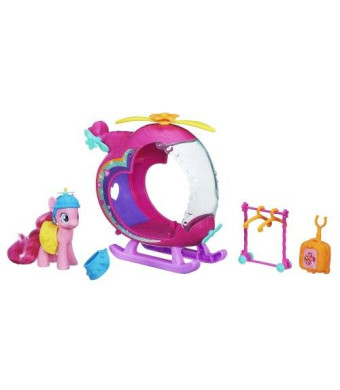 My Little Pony Pinkie Pies Rainbow Helicopter Playset