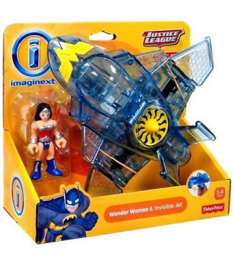 Fisher-Price Imaginext, Justice League, Exclusive Wonder Woman and Invisible Jet