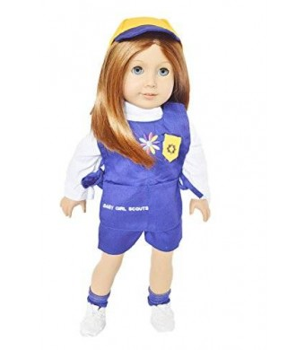 Brittany's GIRL SCOUTS DAISY UNIFORM FOR AMERICAN GIRL DOLLS