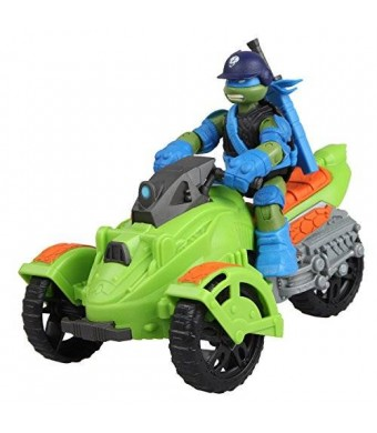 Playmates Teenage Mutant Ninja Turtles Ninja AT3 Vehicle with Leo Figure