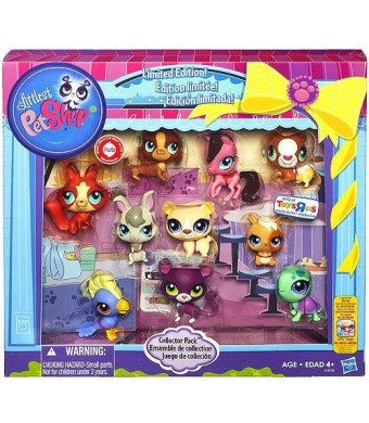 Hasbro Littlest Pet Shop Limited Edition Collector's 10-Pack [Horse, Panther, Dachsund, Cockatoo, Guinea Pig, Hamster, Turtle, Fox, Bear and Bunny]