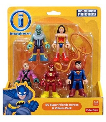 Fisher-Price Fisher Price Imaginext DC Super Friends Heroes And Villains Pack