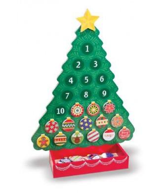 Melissa & Doug Melissa and Doug Countdown to Christmas Wooden Advent Calendar