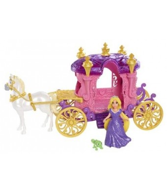 Mattel Disney Little Kingdom Magiclip Rapunzel Carriage