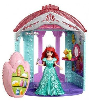 Mattel Disney Princess Little Kingdom Magiclip Ariel's Room Playset