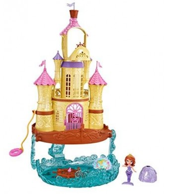 Mattel Disney Sofia the First - 2-in-1 Sea Palace Playset