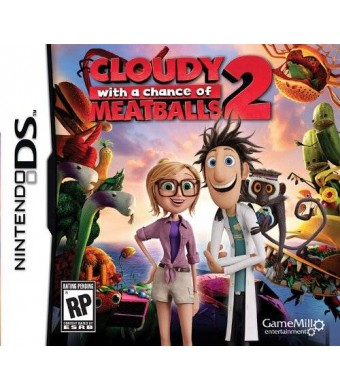Game Mill Cloudy Chance Meatballs 2 DS - Nintendo DS